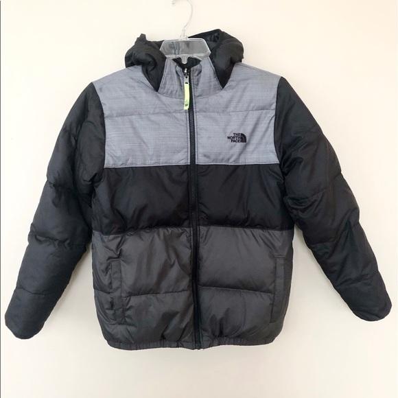 a88c88298 Boys The North Face Moondoggy Reversible Jacket XL